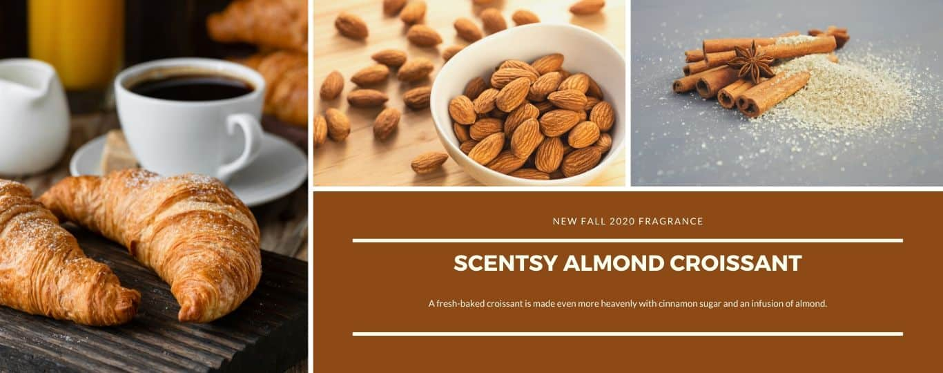 SCENTSY ALMOND CROISSANT FRAGRANCE