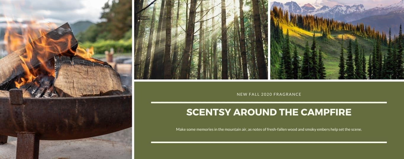 SCENTSY AROUND THE CAMPFIRE FRAGRANCE