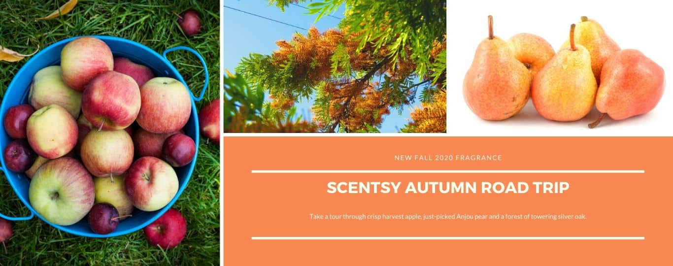 SCENTSY AUTUMN ROAD TRIP FRAGRANCE