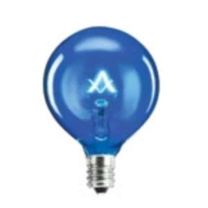 SCENTSY BLUE 25 W LIGHT BULB