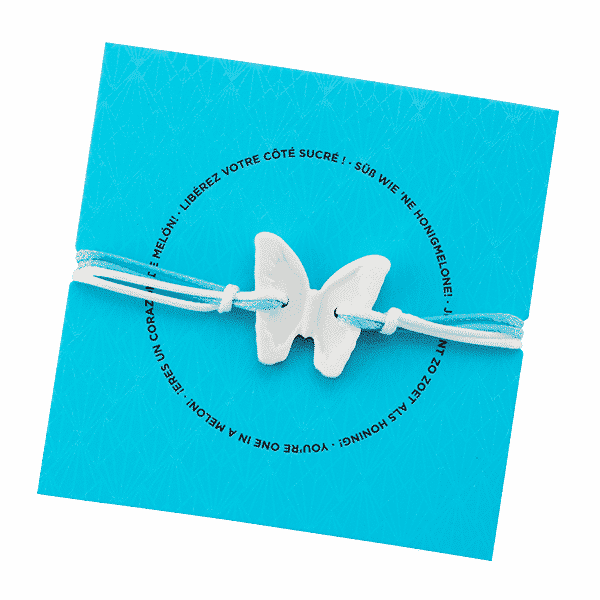 SCENTSY BLUE AGAVE & MELON SCENTED BRACELET BUTTERFLY | NEW! Scentsy Scented Bracelet – Blue Agave & Melon | Summer 2021 | Incandescent.Scentsy.us