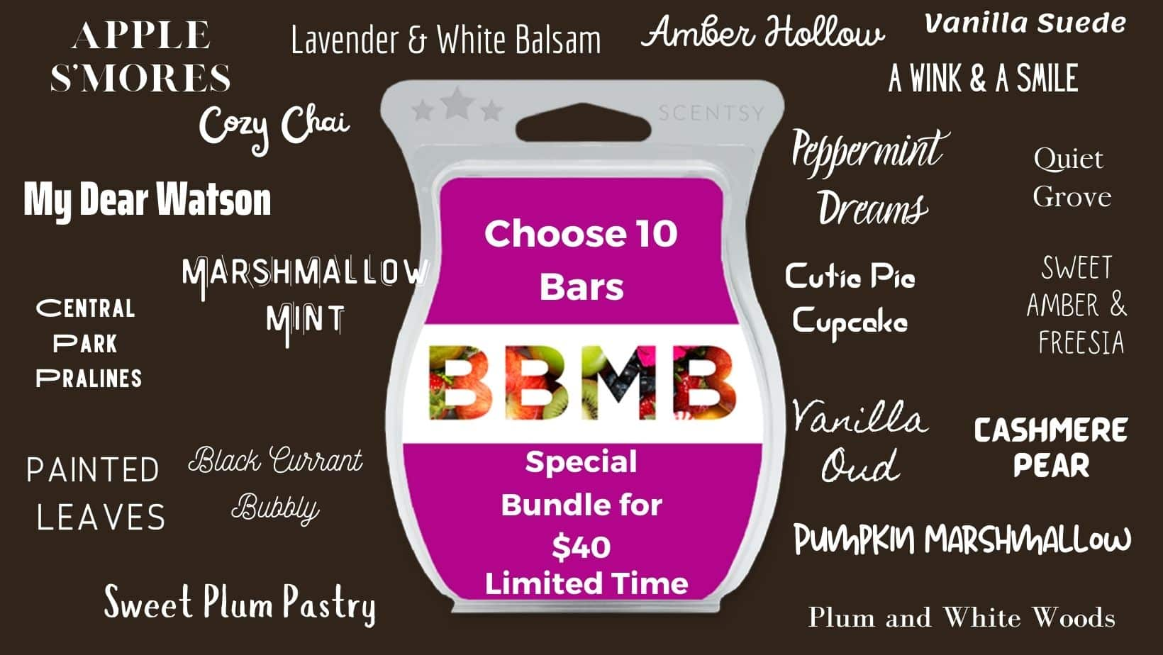 SCENTSY BRING BACK MY BAR FEBRUARY 22 BUNDLE SPECIAL 300X300