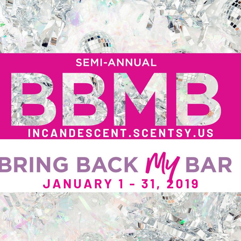 SCENTSY BRING BACK MY BAR WINNERS JANUARY 2019 | Scentsy