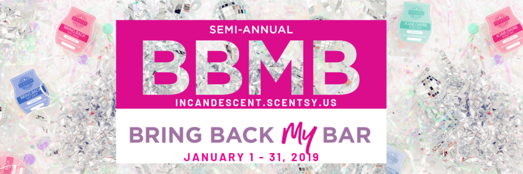 SCENTSY BRING BACK MY BAR JANUARY 2019