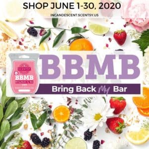 SCENTSY BRING BACK MY BAR JUNE 2020