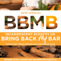 SCENTSY BRING BACK MY BAR OCTOBER 2018 VOTING PERIOD