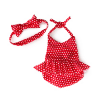 SCENTSY BUDDY CLOTHES: RED BATHING SUIT