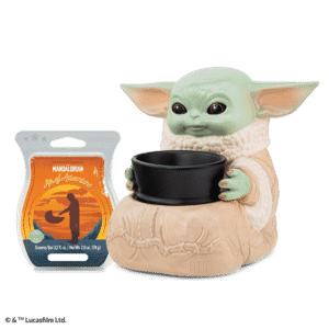 The Child (Baby Yoda) Scentsy Warmer with Bar Presale | The Mandalorian Star Wars
