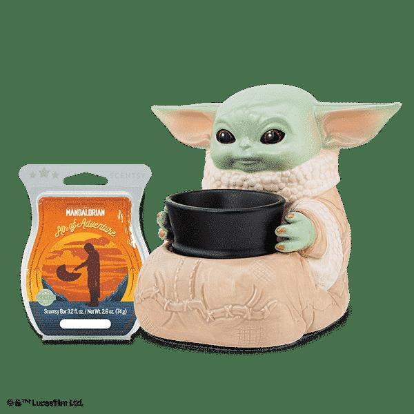 The Child (Baby Yoda) Scentsy Warmer with Bar Presale | The Mandalorian Star Wars