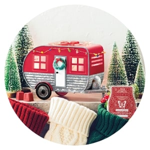 SCENTSY CHRISTMAS CAMPER