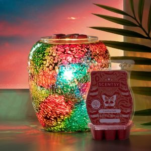 Scentsy June 2021 Warmer & Scent of the Month | Chromatic Scentsy Warmer & A-Peeling Apple Fragrance