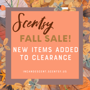SCENTSY CLEARANCE OCTOBER 2019