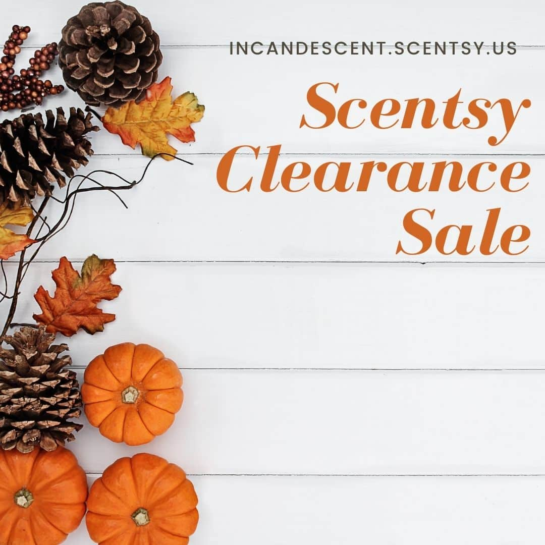 SCENTSY CLEARANCE SALE FALL 2020