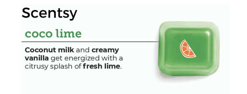 SCENTSY COCO LIME