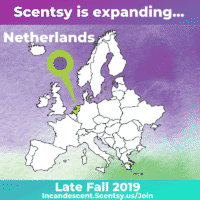 SCENTSY COMING TO THE NETHERLANDS