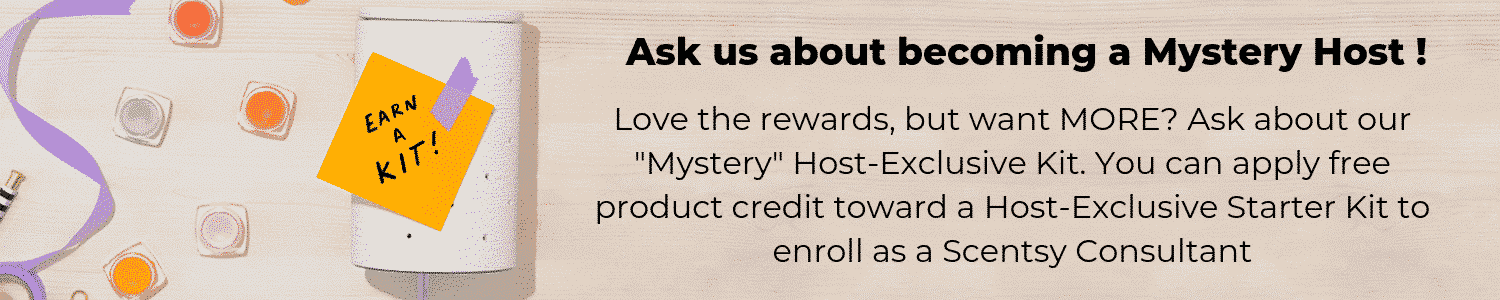 SCENTSY CONSULTANT MYSTERY HOST