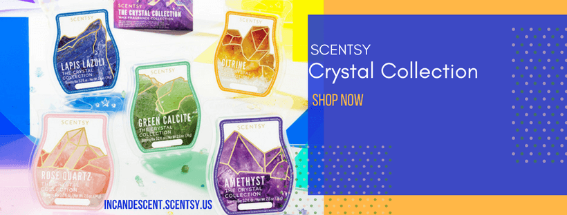 SCENTSY CRYSTAL COLLECTION INCANDESCENT (2) | NEW! CRYSTAL SCENTSY WAX BAR FRAGRANCE COLLECTION