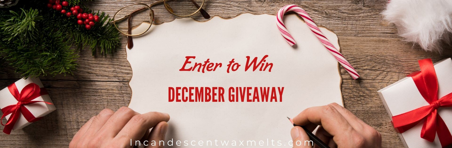 SCENTSY DECEMBER 2019 GIVEAWAY