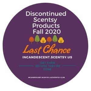 SCENTSY DISCONTINUED 2020