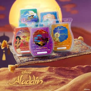 SCENTSY DISNEY ALADDIN WAX COLLECTION BUNDLE