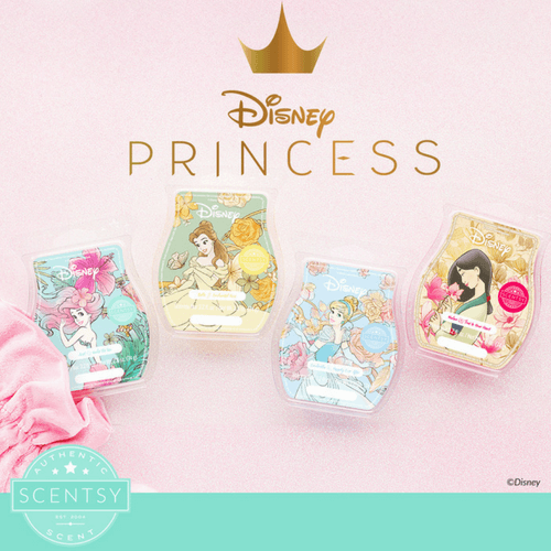 SCENTSY DISNEY PRINCESS BARS