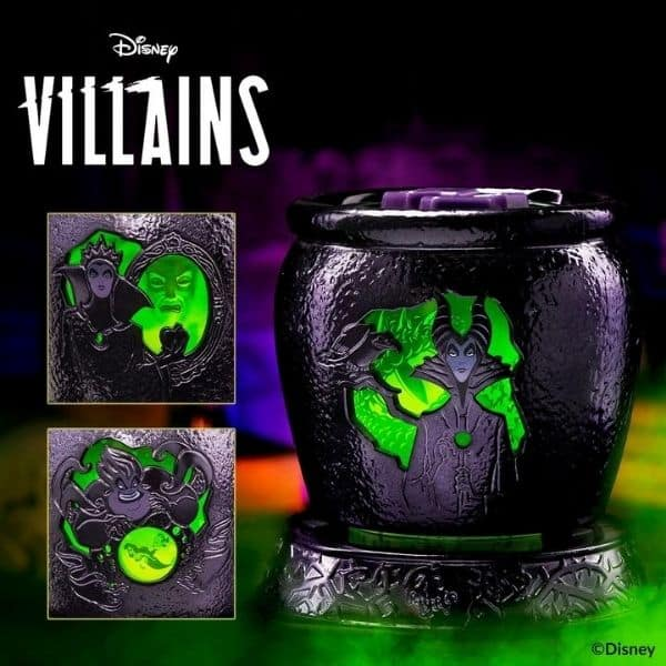 SCENTSY – DISNEY VILLAINS COLLECTION  | VILLAINS – SCENTSY WARMER & WAX | MALEFICENT, EVIL QUEEN, URSULA |  SHOP MAY 2021