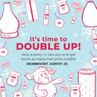 Scentsy Party - January 2019 - Double Half-price Host Rewards