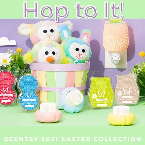 NEW! Scentsy 2021 Easter Collection | Shop 3/8