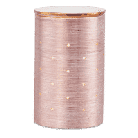 SCENTSY ETCHED CORE ROSE GOLD WARMER   Etched Core Rose Gold Scentsy Warmer