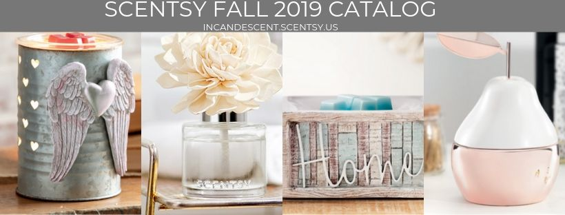 SCENTSY FALL 2019 CATALOG