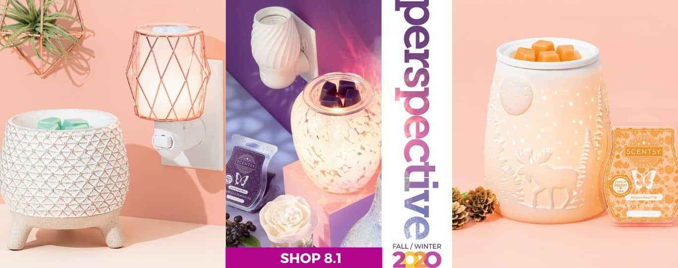 SCENTSY FALL 2020 CATALOG SHOP AUGUST 1 INCANDESCENT PREVIEW 1