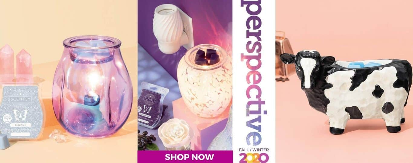 SCENTSY FALL 2020 CATALOG SHOP NOW INCANDESCENT