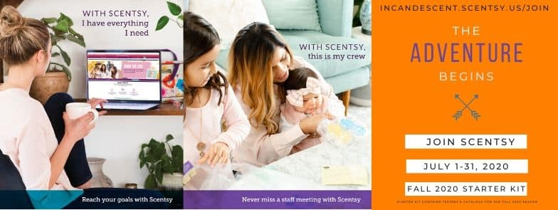 SCENTSY FALL 2020 CATALOG STARTER KIT