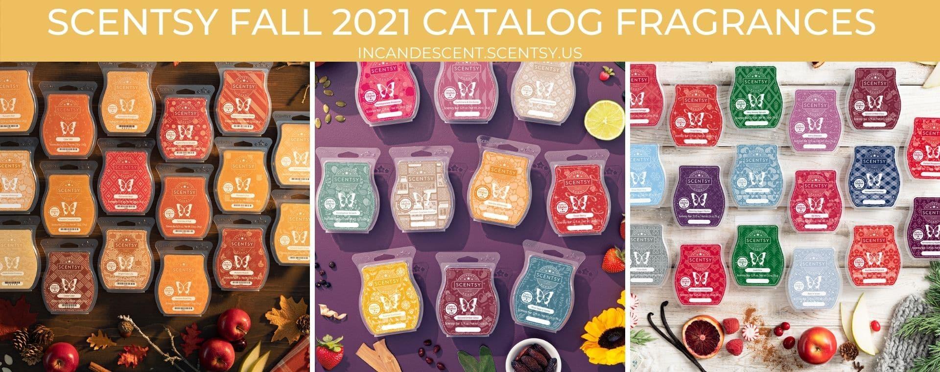 SCENTSY FALL 2021 CATALOG FRAGRANCES   Scentsy Fall 2021 Catalog Scent List