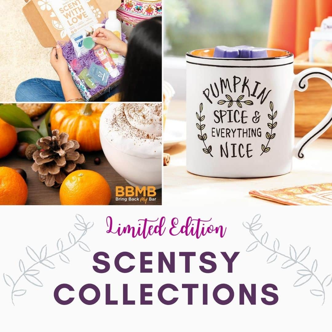 SCENTSY FALL LIMITED EDITION COLLECTIONS 2020
