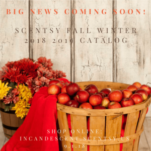 SCENTSY FALL WINTER 2018 2019 CATALOG
