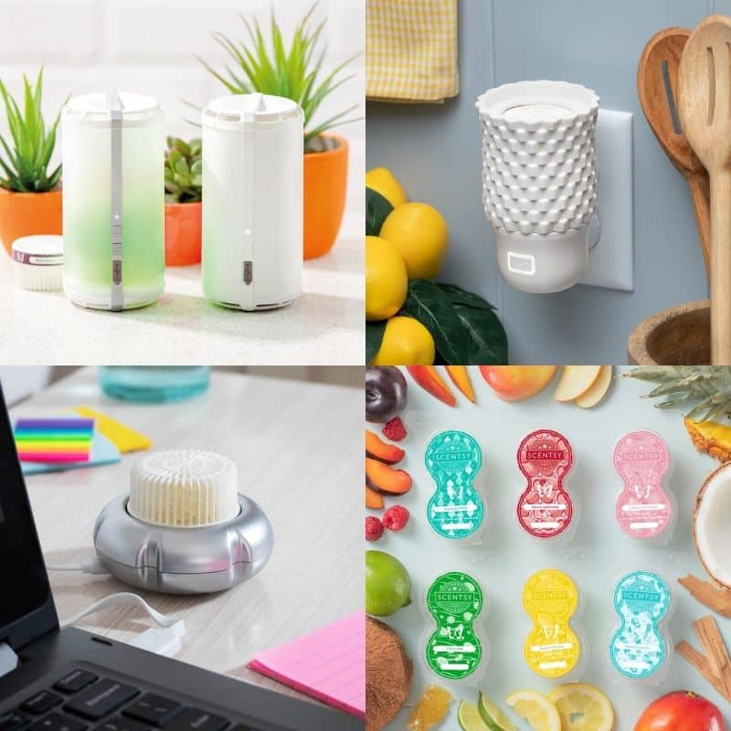 SCENTSY FAN DIFFUSERS SCENTSY GO PODS CATEGORY SPRING 2021 1
