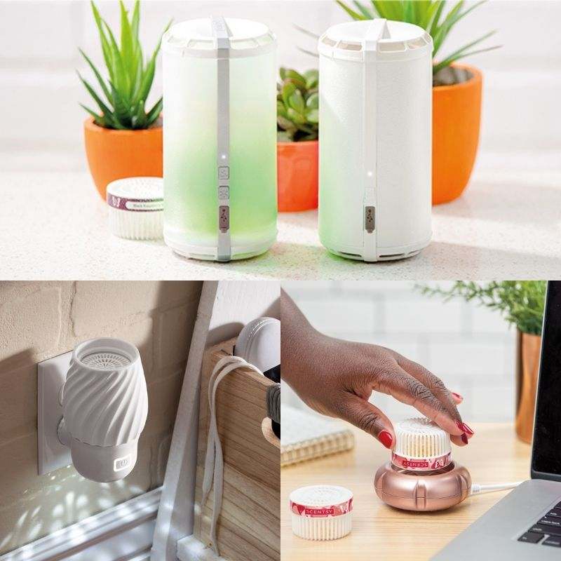 SCENTSY FAN DIFFUSERS SCENTSY GO PODS CATEGORY SPRING 2021