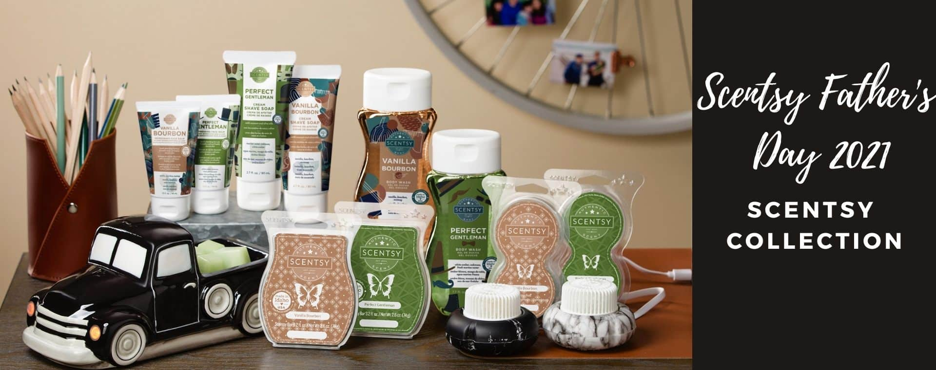 SCENTSY FATHER'S DAY 2021 COLLECTION