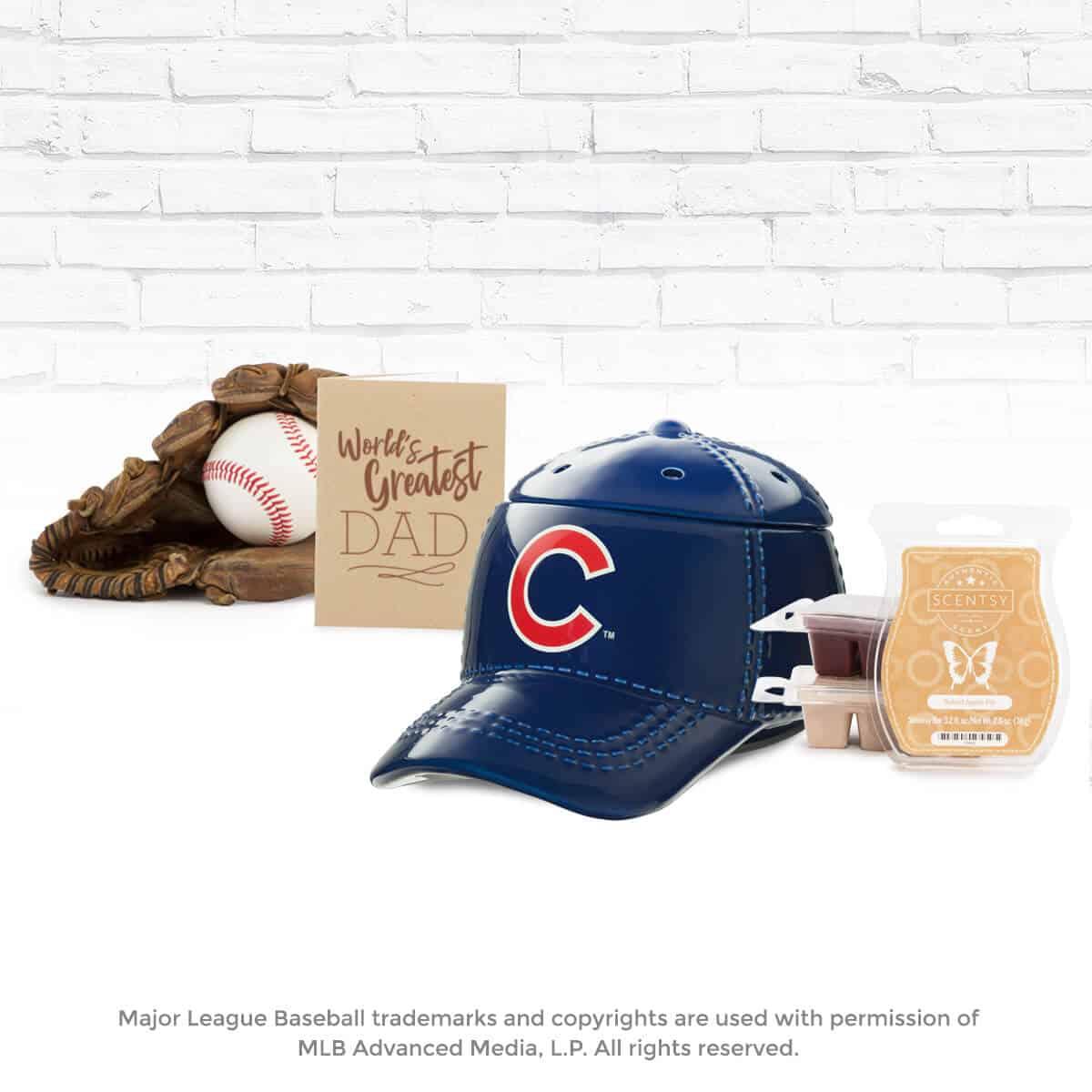 ca4e208992b NEW! MLB BASEBALL CAP SCENTSY WARMER FATHER S DAY BUNDLE