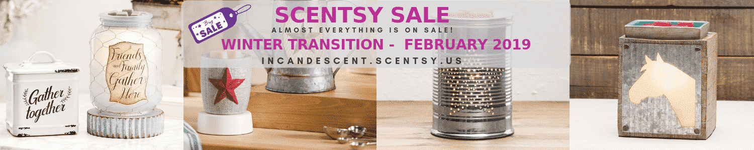 SCENTSY FEBRUARY 2019 SALE BANNER
