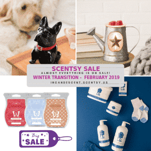 SCENTSY FEBRUARY 2019 SALE PROMO INCANDESCENT