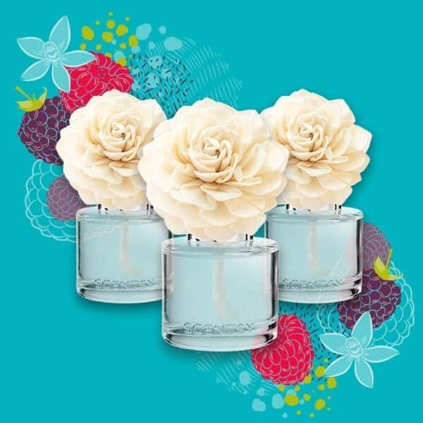 SCENTSY FRAGRANCE FLOWERS 600X600
