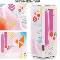 ABSTRACT SCENTSY GO WRAP