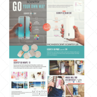 SCENTSY GO AND SCENTSY GO WRAPS PLUS GO PODS (1) | Scentsy 10% off Sale August 2017
