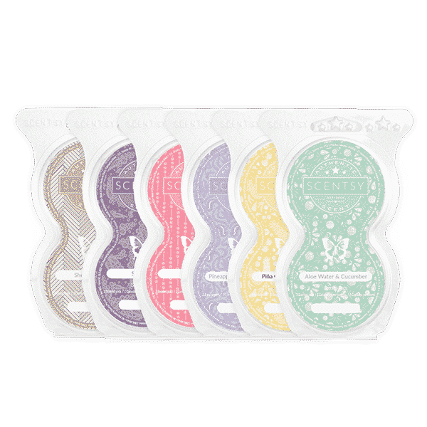 SCENTSY GO PODS SIX PACK | SCENTSY GO PODS | SCENTSY CLUB SUBSCRIPTION