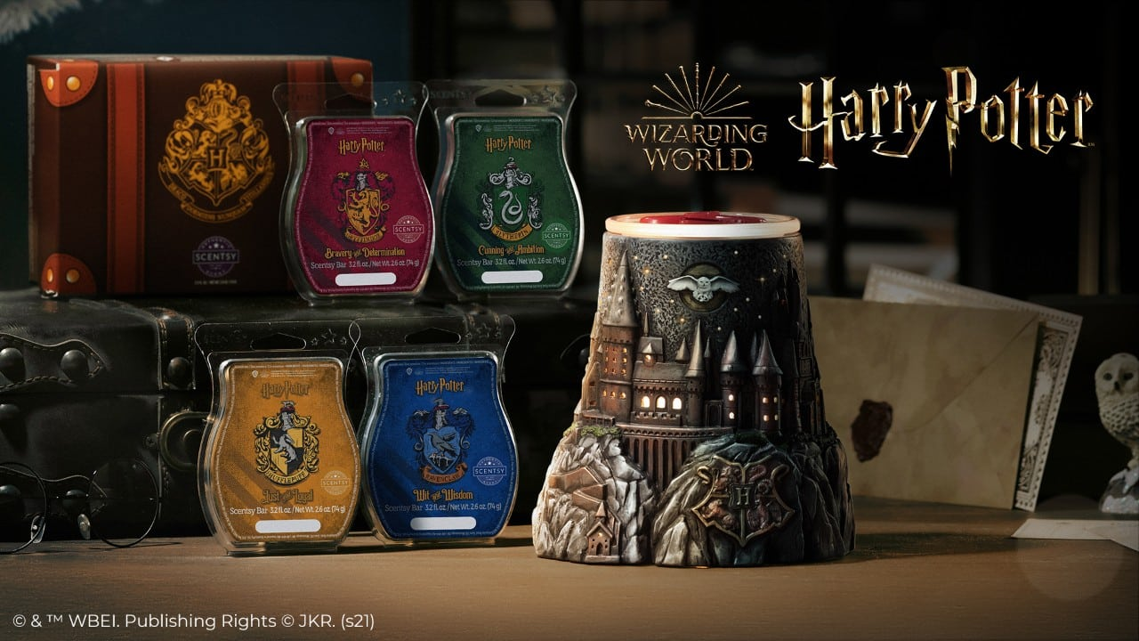 SCENTSY HARRY POTTER COLLECTION