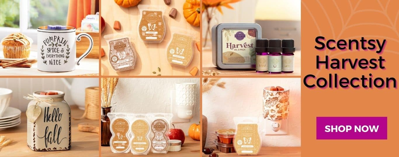 SCENTSY HARVEST COLLECTION SHOP 2020 3