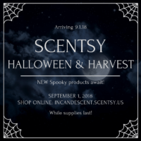 SCENTSY HALLOWEEN & HARVEST COLLECTION WARMERS AND PRODUCTS 2018