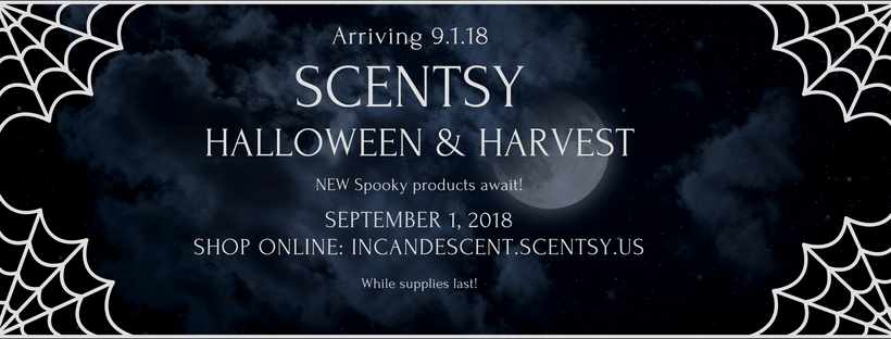 SCENTSY HARVEST AND HALLOWEEN 2018 PRODUCTS